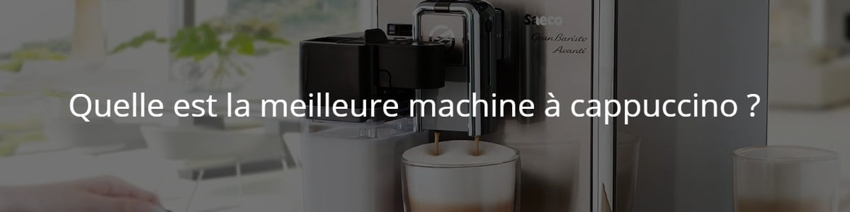 machine à cappuccino