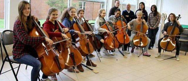 meilleur violoncelle d'étudiant -