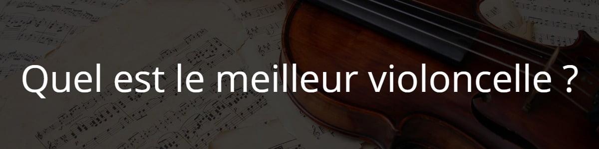 Quel est le meilleur violoncelle ?