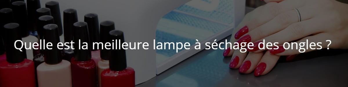 lampe à séchage des ongles --