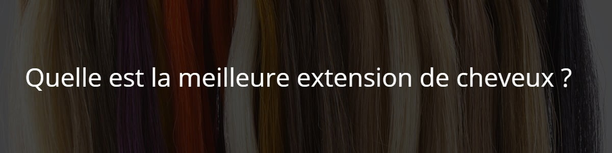 extension de cheveux