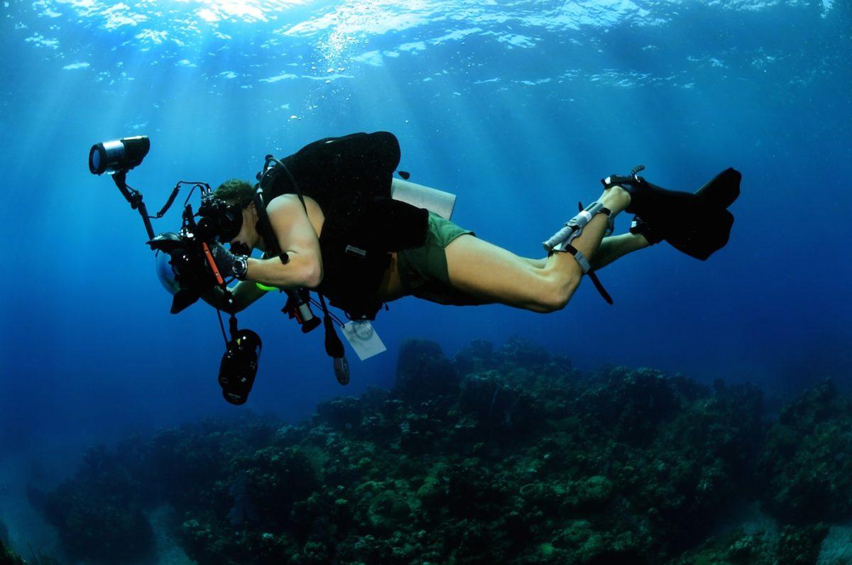 caméra de pêche sous-marine -