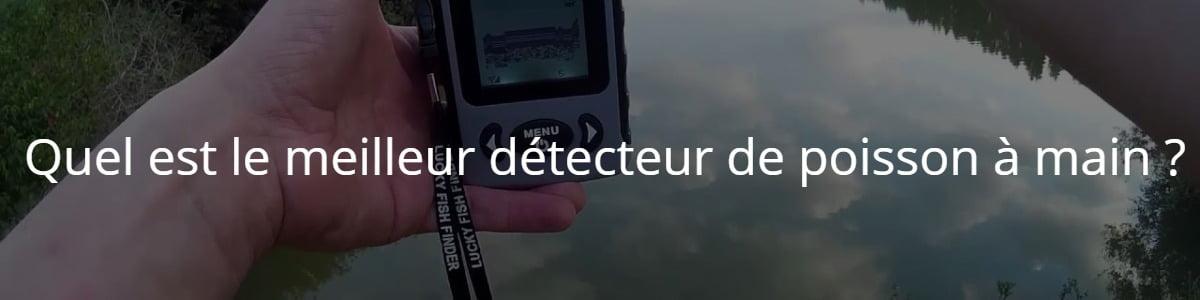 Quel est le meilleur détecteur de poisson à main ?