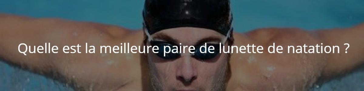 paire de lunette de natation