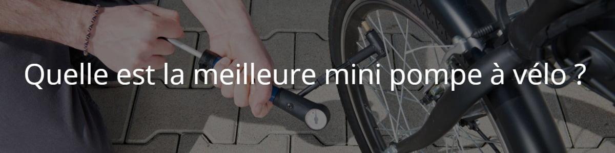mini pompe à vélo