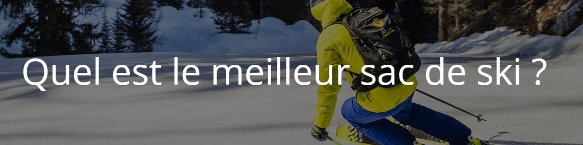 sac de ski