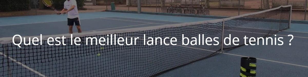 lance balles de tennis
