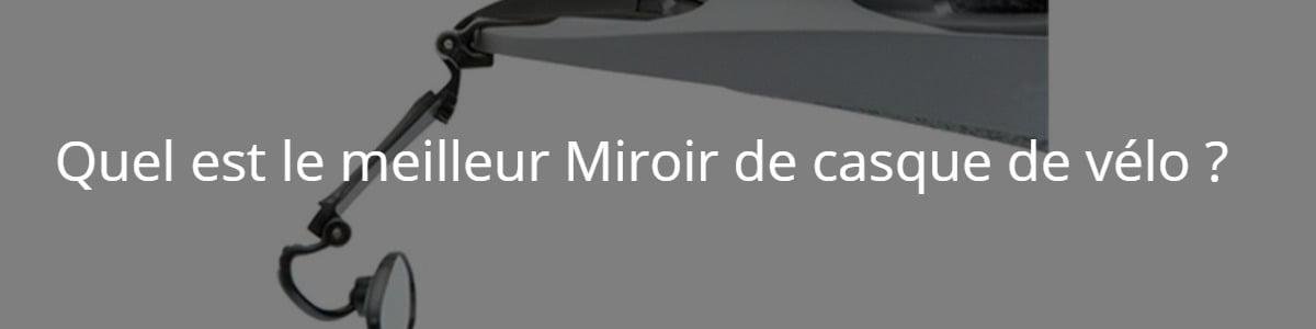 miroir de casque de vélo