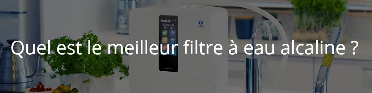 filtre à eau alcaline