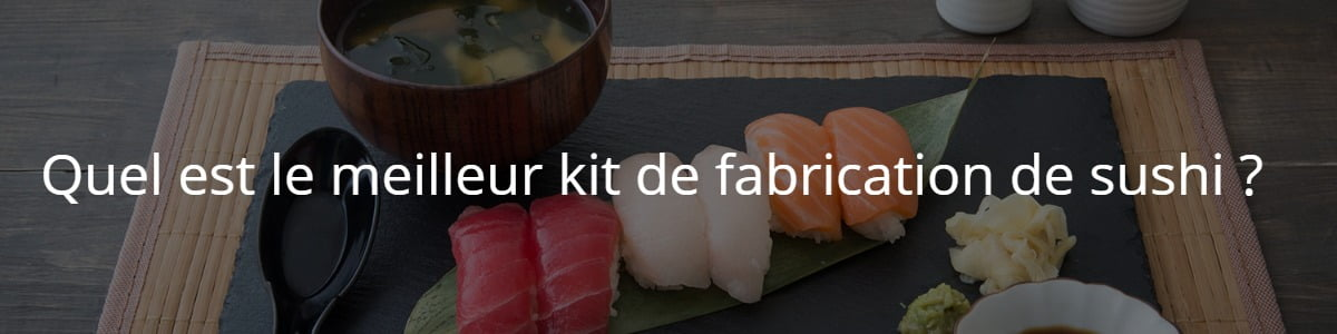 kit de fabrication de sushi
