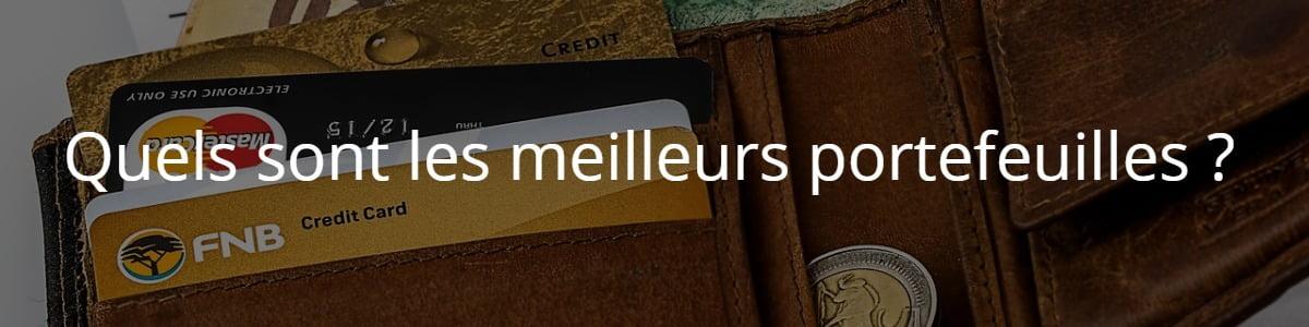 Quels sont les meilleurs portefeuilles?