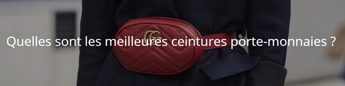 Quelles sont les meilleures ceintures porte-monnaies ?