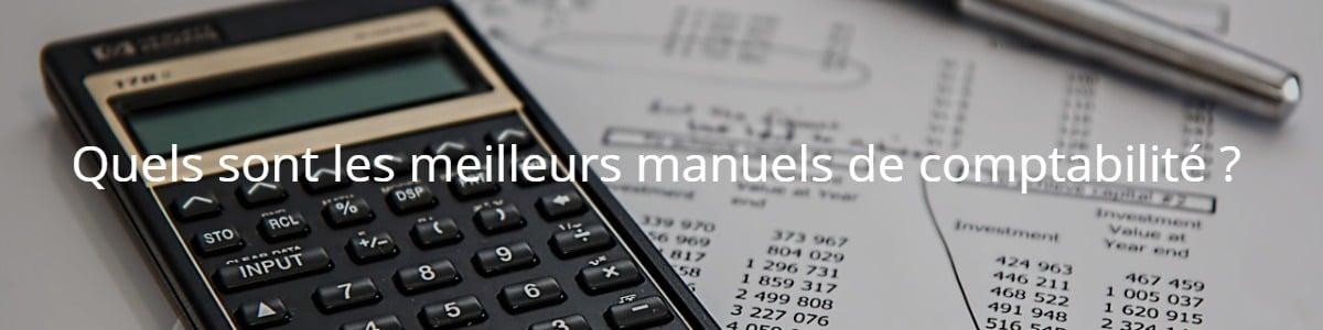 Quels sont les meilleurs manuels de comptabilité ?