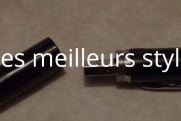 Quels sont les meilleurs stylos caméra ?