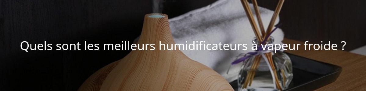 Quels sont les meilleurs humidificateurs à vapeur froide ?