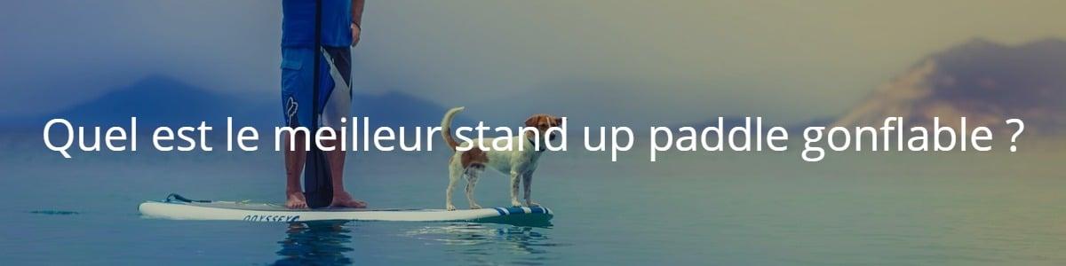 Quel est le meilleur stand up paddle gonflable ?