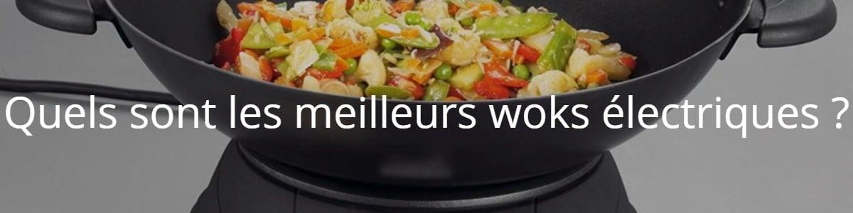 Quels sont les meilleurs woks électriques ?