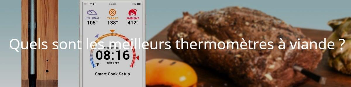 Quels sont les meilleurs thermomètres à viande ?