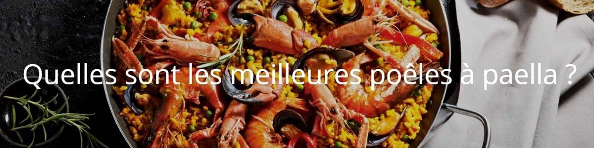 Quelles sont les meilleures poêles à paella ?