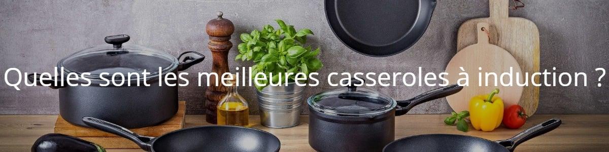 Quelles sont les meilleures casseroles à induction ?