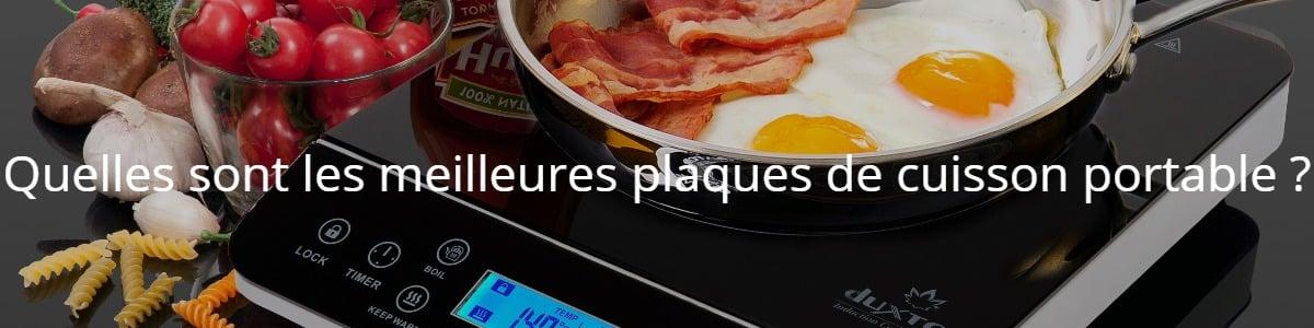 Quelles sont les meilleures plaques de cuisson portable ?
