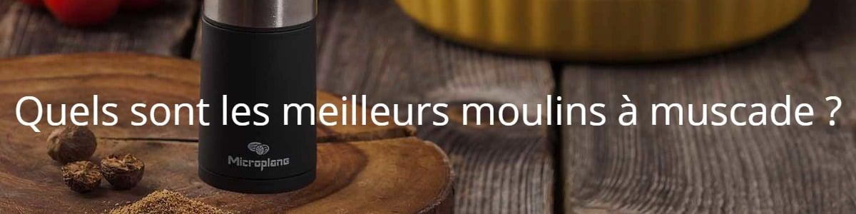 Quels sont les meilleurs moulins à muscade ?