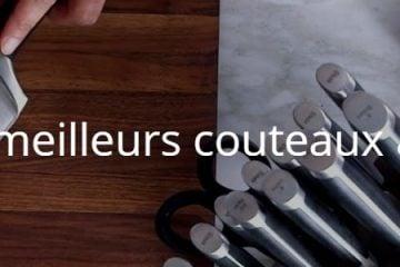 Quels sont les meilleurs couteaux avec aiguiseur ?