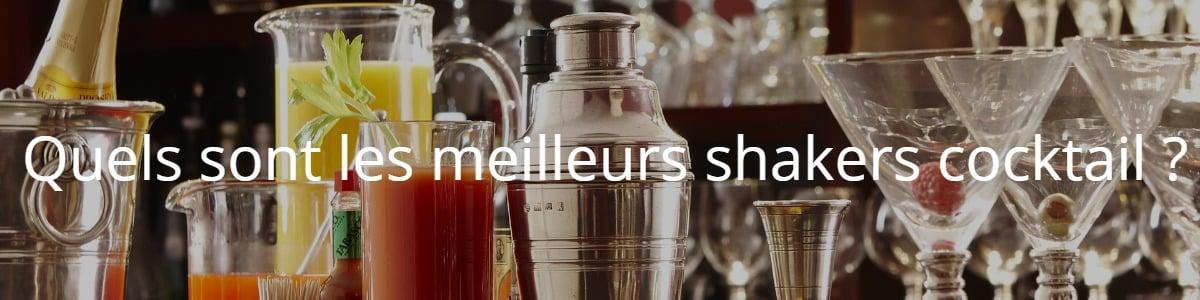 Quels sont les meilleurs shakers cocktail ?