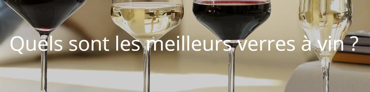 Quels sont les meilleurs verres à vin ?