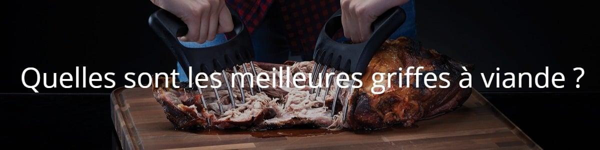 Quelles sont les meilleures griffes à viande ?