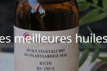 Quelles sont les meilleures huiles biologiques ?
