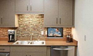 télévision pour cuisine